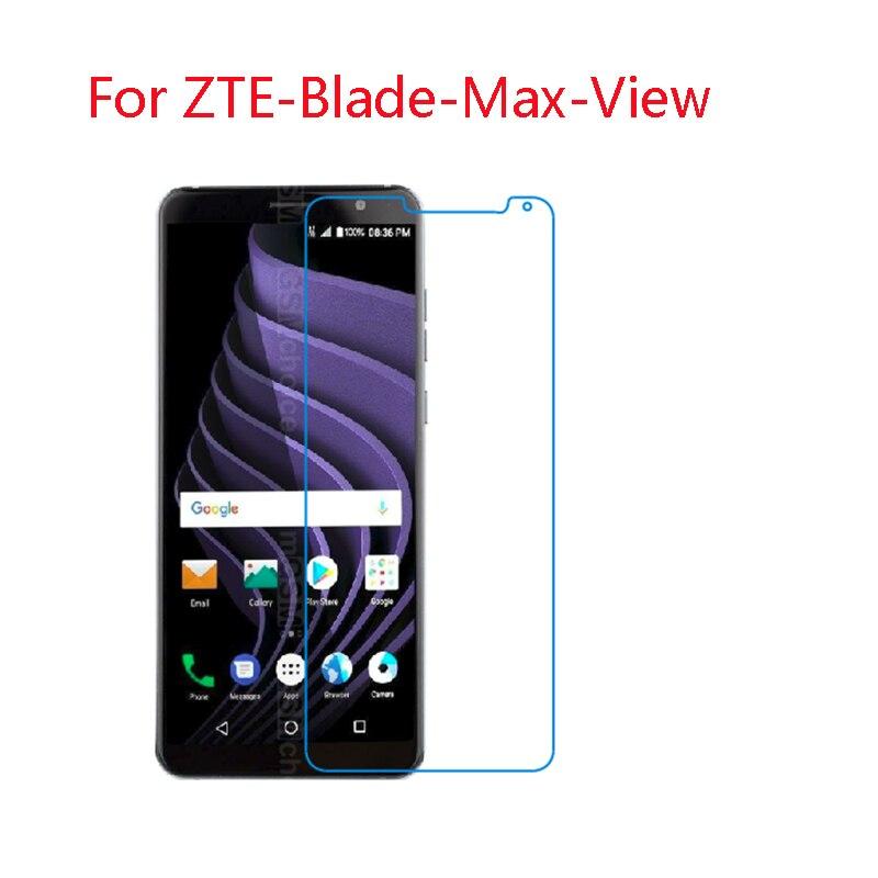 (2-Pack) 9 H tela de vidro film Para ZTE Lâmina flexível Vista Max, V10, visível R2