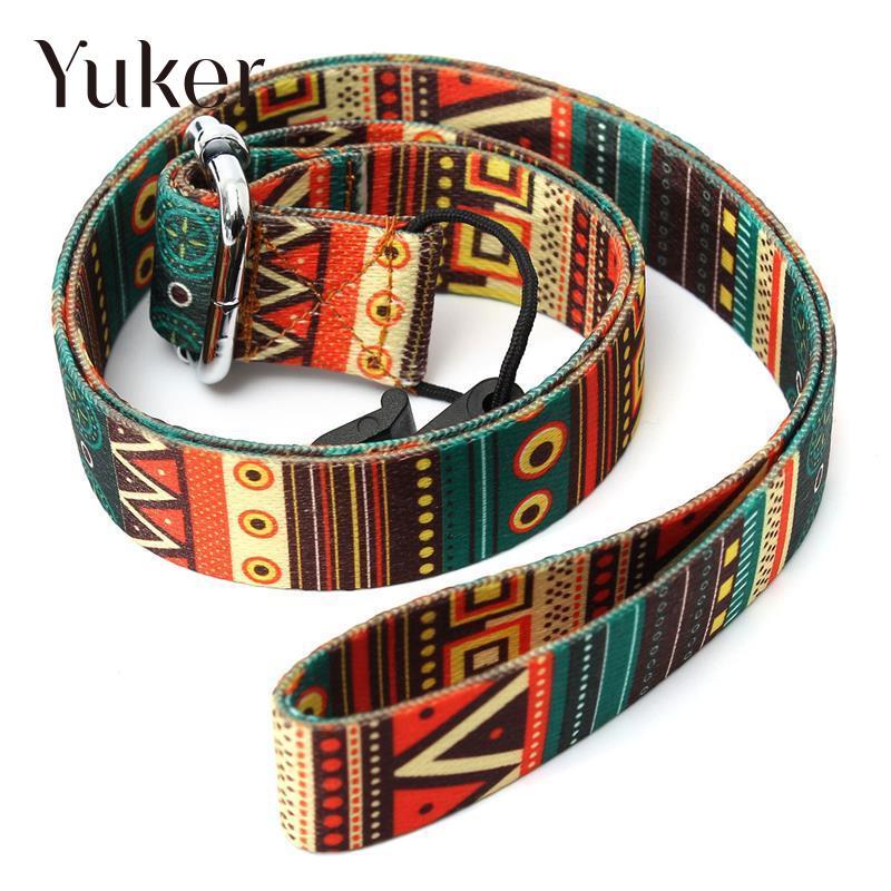 Yuker, novedad, correa para ukelele clásica ajustable de nailon, accesorios coloridos, gran oferta de accesorios para guitarra con correa para ukelele