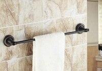 wall mounted black oil rubbed brass bathroom single towel bar towel rail holder bathroom accessory mba212