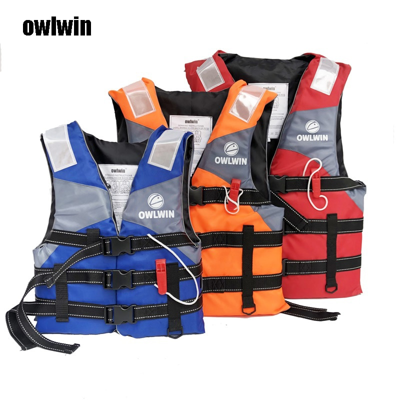 AliExpress - Owlwin Hot sell life vest Outdoor Professional life jacket Swimwear Swimming jackets Water Sport Survival Dedicated child adult