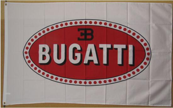 Bugatti Flag 3x5ft free shipping