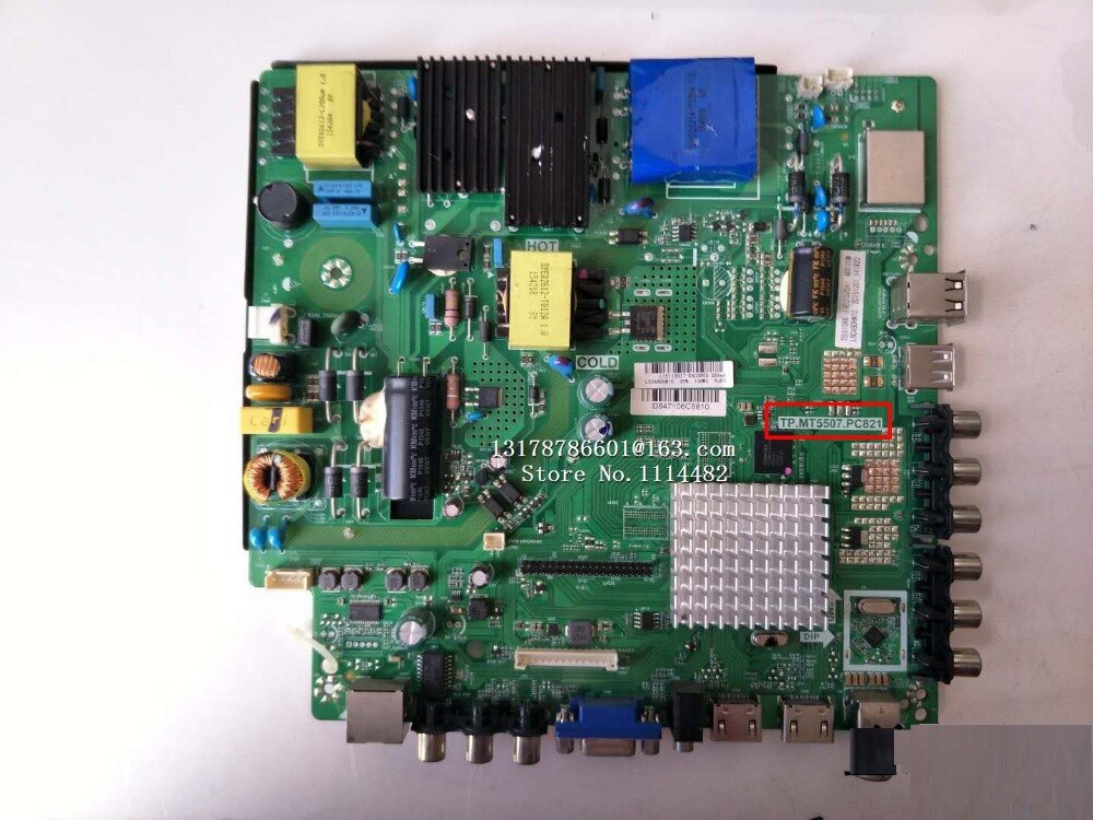 TP. TP placa lógica buena prueba Original para la placa madre 48CE1210M TP. MT5507.PC821
