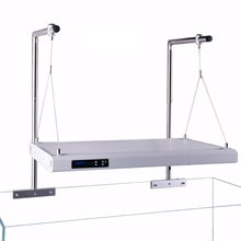 Aquarium lamp hanger large stainless steel adjustable height Goldfish Aquarium seawater freshwater accessory bracket