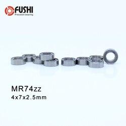 MR74ZZ ABEC-1 (50 PCS) Rolamentos de Esferas Em Miniatura 4X7X2.5mm MR74ZZ L-740ZZ