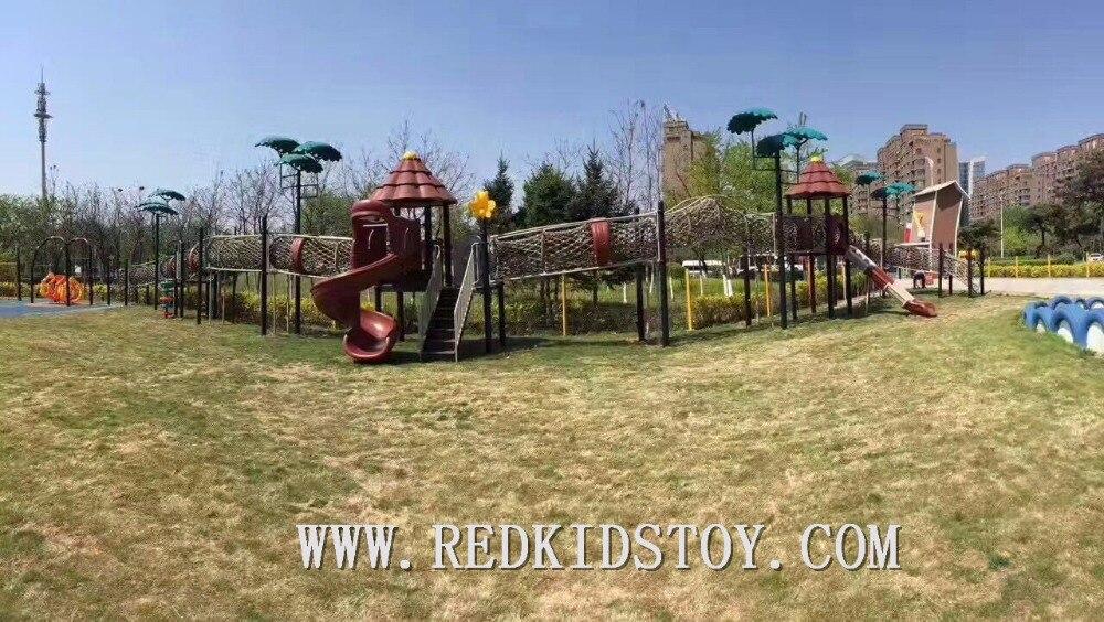Экспортируется в Румынию детская игровая площадка высокого качества Детская