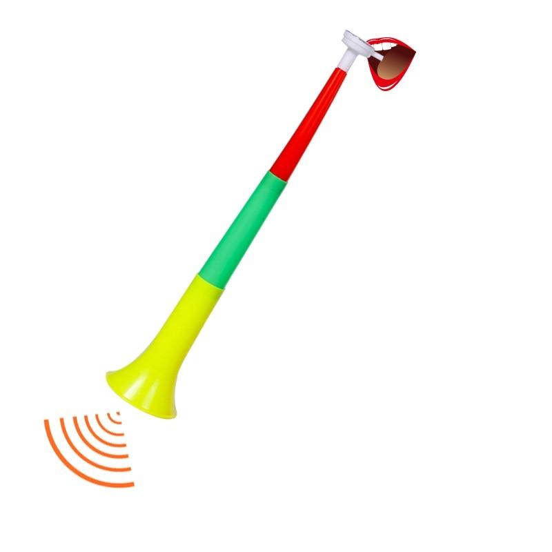 2pcs/pack Free Shipping world  Long VUVUZELA Football fan cheering horns football trumpet loudspeaker