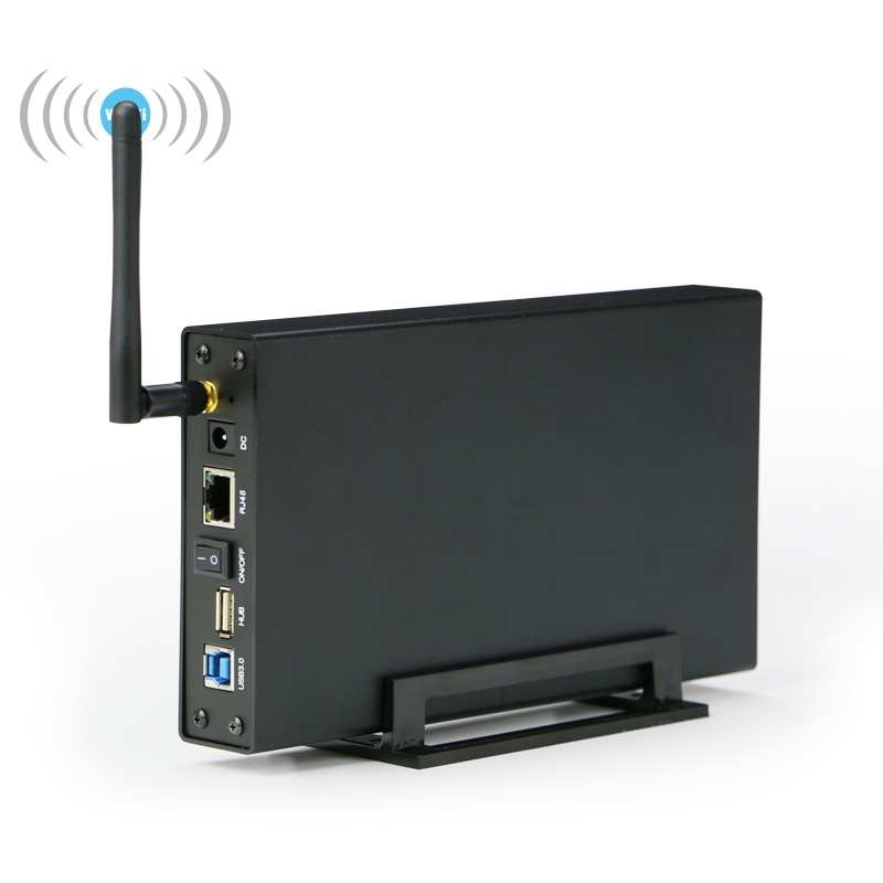 Blueendless Sata إلى USB 3.0 hd externo العلبة Nas واي فاي مكرر مكبر للصوت واي فاي قرص صلب خارجي مكرر لاسلكي الضميمة