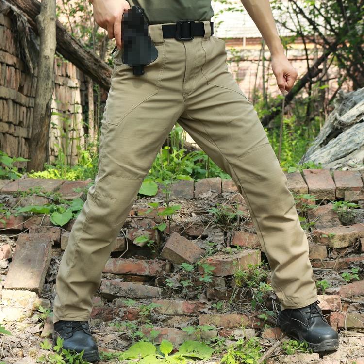 Новинка 2017, хлопковые мужские тактические брюки для военных игр, камуфляжные брюки-карго, повседневные брюки, брюки, армейские военные Рабо...