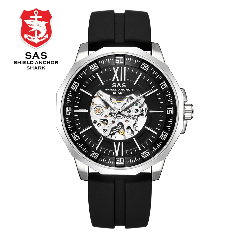 Men's Automatic Mechanical Watches Top Brand Luxury Skeleton Automatic Watches Male Clock Montre Relogio Zegarek Meski Relojes