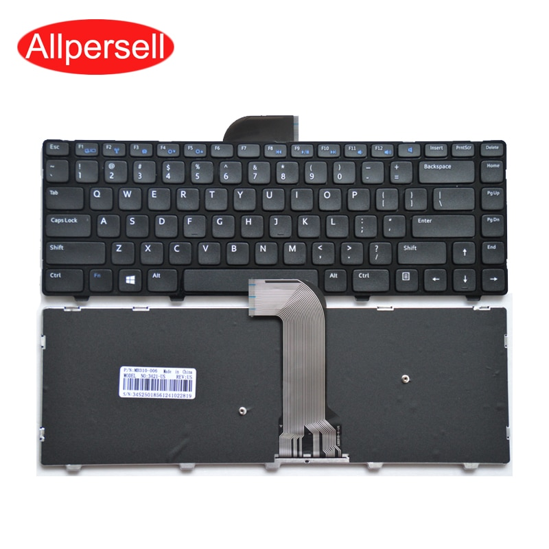 Laptop keyboard For Dell 3421 M431R 14R-5421 V3421 3437 2421 5437 notebook Black US Brand New
