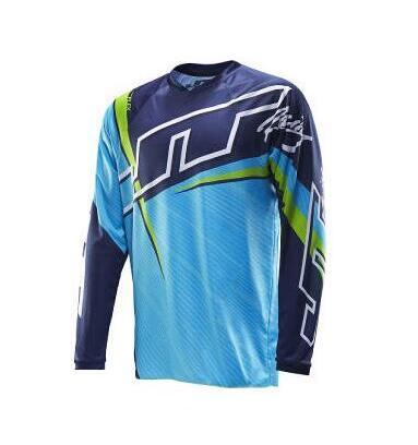 Camiseta negra de Motocross para hombre nueva camiseta motociclista Mayhem Lite Blocker/hi-viz Motocross Dirt Bike MX jersey caliente