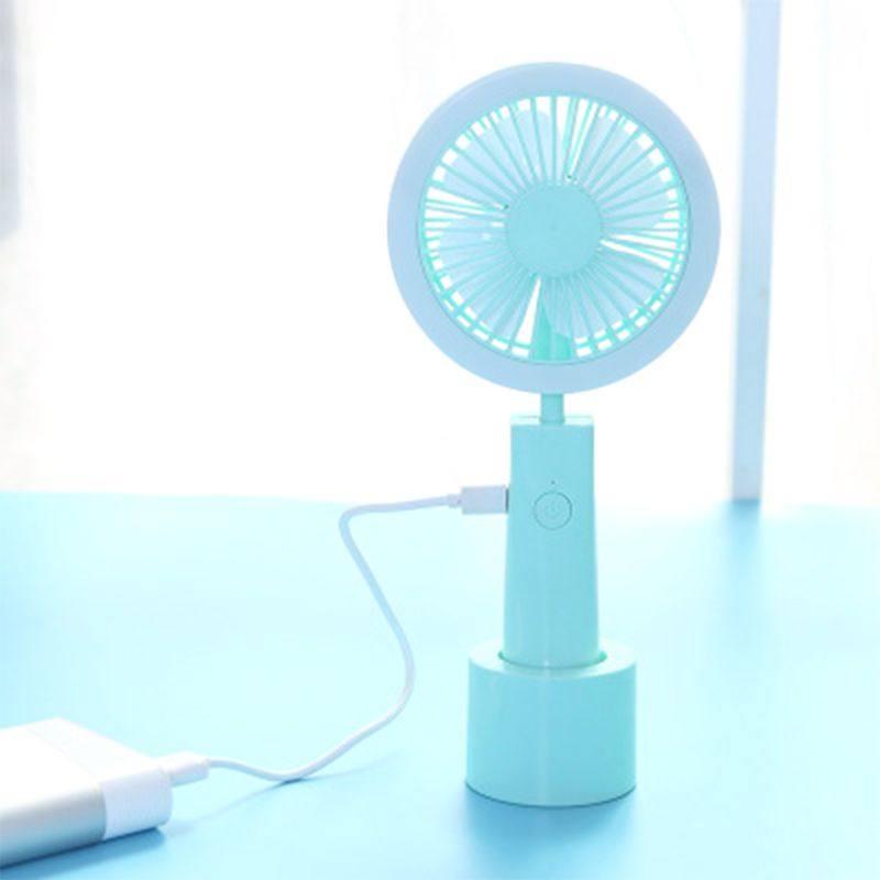 Outdoor LED Light Stick Handheld Fan Mini Portable With Fill Light Charging USB Small Fan Gift
