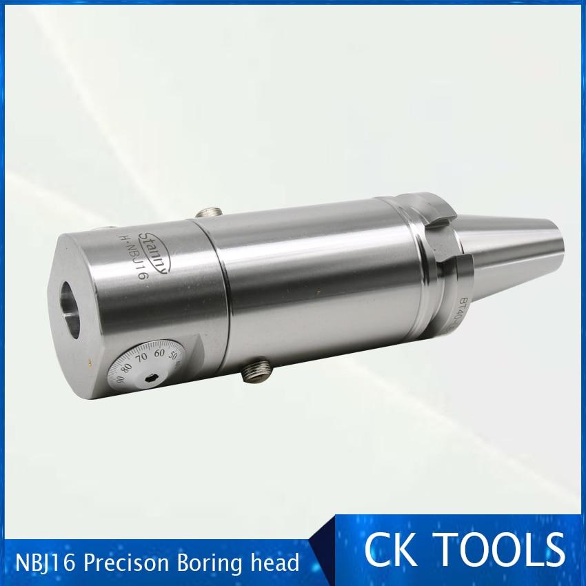 Hoge Precisie Cnc Boring Tool Hoge Stijfheid Boring Bar En Micro Kleine Diameter NBJ16 16 Mm Boorkop