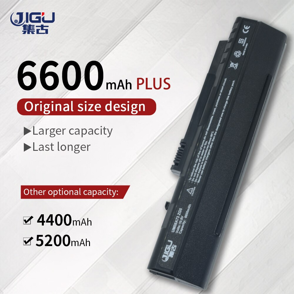 Batería para ordenador portátil de 6 celdas jgu para Acer Aspire One...