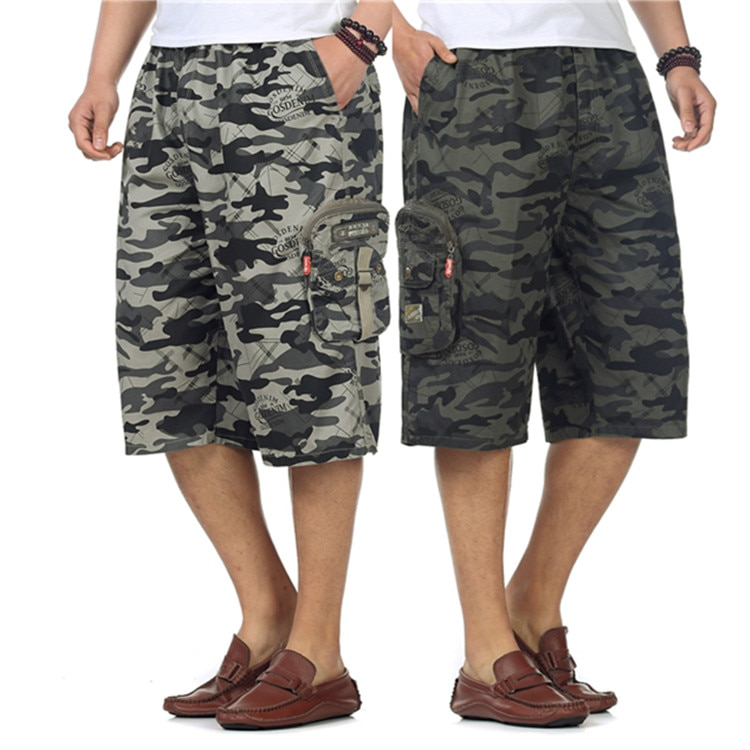 Мужские летние шорты, мужская сумка, шорты для инструментов, повседневные шорты amouflage, мужские капри 100%, хлопковые брюки, мужские шорты