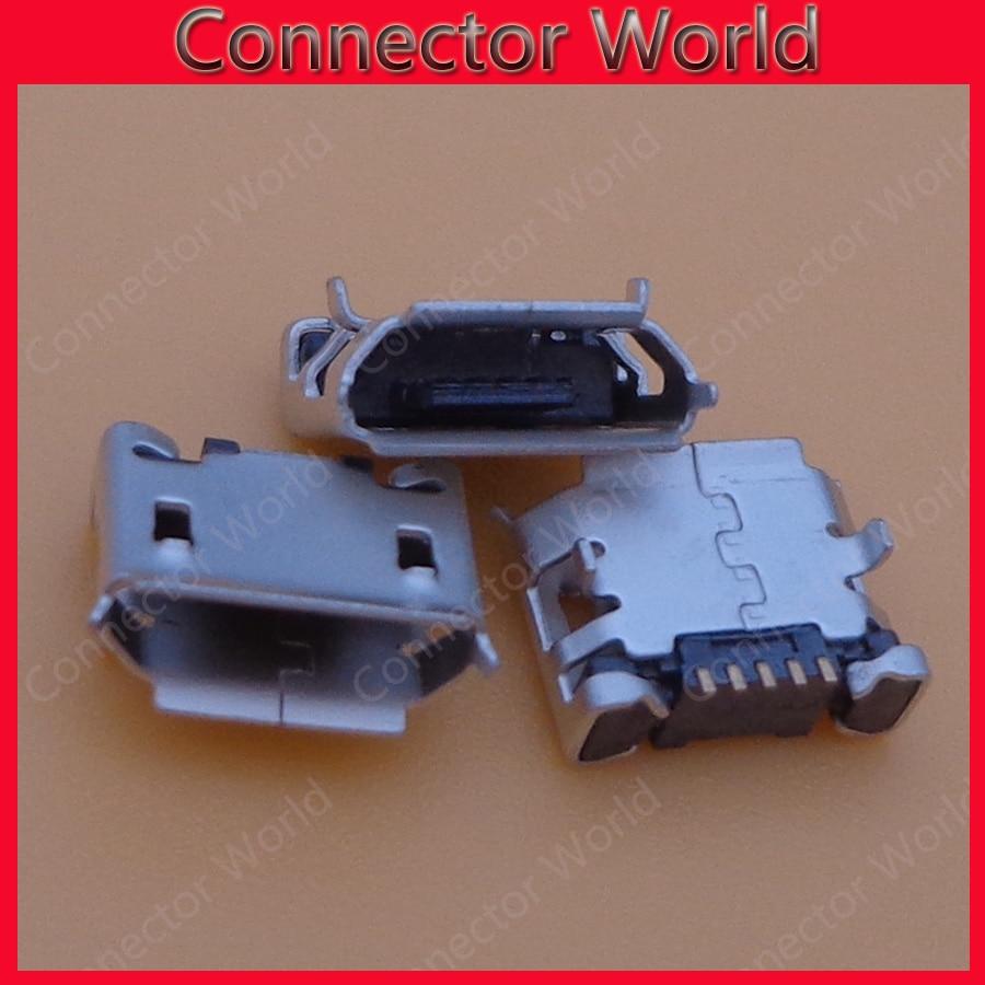 1000 قطعة/الوحدة ل الكاتيل 4010 OT4010 فودافون 875 V875 مايكرو البسيطة 5 دبوس usb المسؤول جاك موصل التوصيل حوض المقبس ميناء