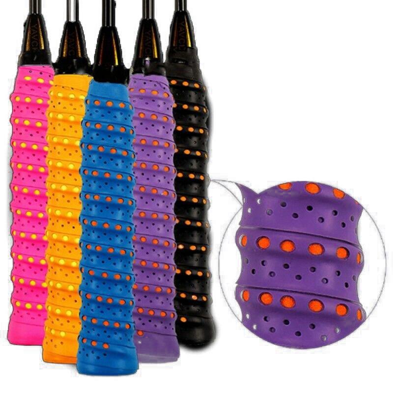 Banda sudorosa de bádminton para la cinta de agarre antideslizante de raqueta agarre de caña de pescar de murciélago parte