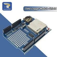 Nuevo XD-05 5V Registro de registro de datos registrador módulo Shield V1.0 para Arduino UNO tarjeta SD caliente