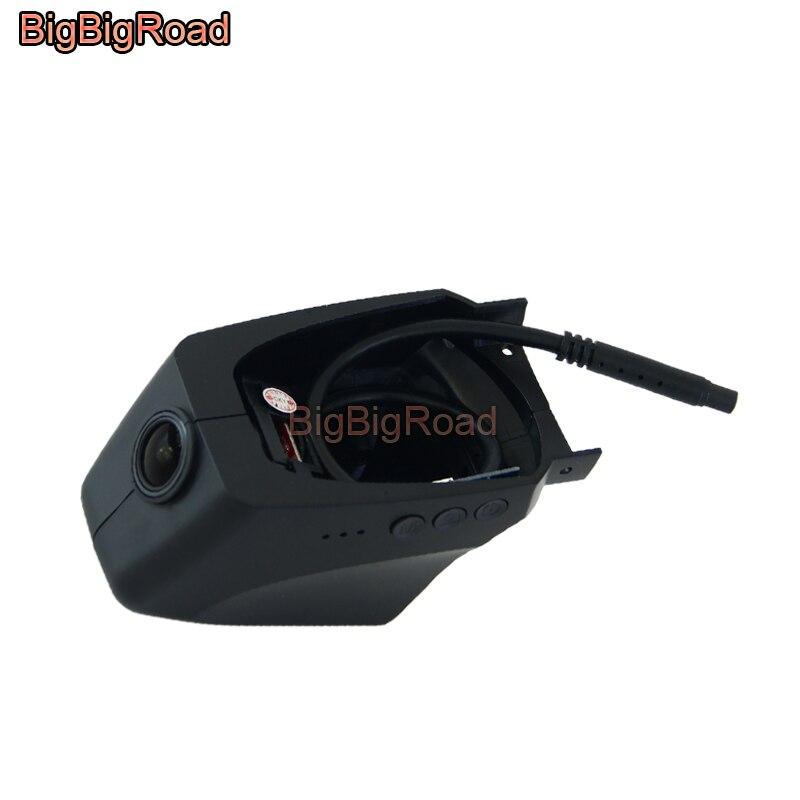 BigBigRoad For Porsche Panamera Macan Cayenne Cayman 911 Carrera 918 Spyder Boxster Car Wifi DVR Video Recorder Dash Cam Camera