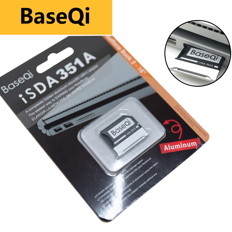 BaseQi Aluminum For Microsoft Surface Book 2 15