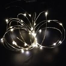 20 LEDs Decoration Lights String Waterproof Flashing Lights Wedding Party Decoration DTT88