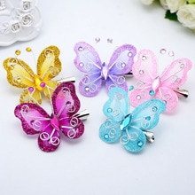 5pcs Hair Clip Butterfly Adorable Cute Headdress Bobby Pin Hair Clips Hair Barrette for Kids Baby Girls Children
