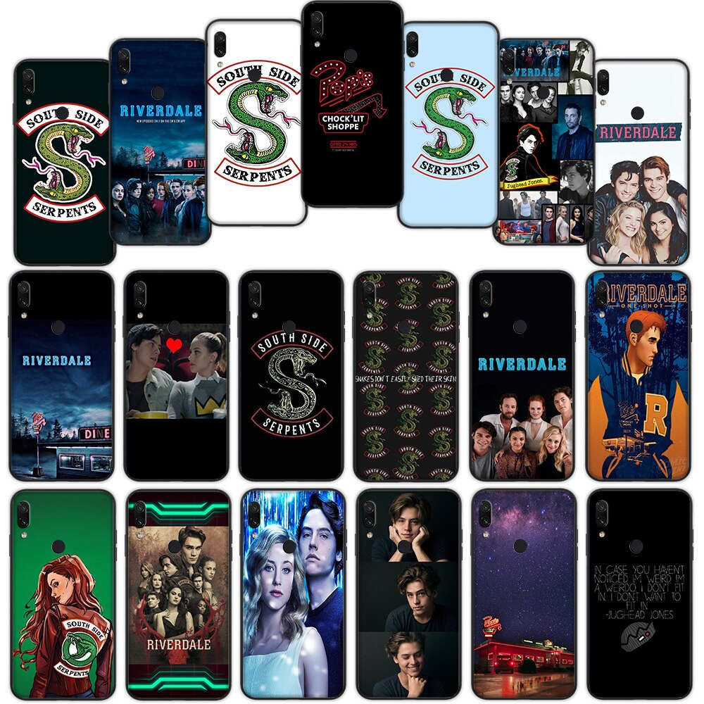 Funda suave serpiente TV Riverdale Southside para Xiaomi Redmi Note 7 4 4X 6 Pro 5 Plus 5A 6A Go S2