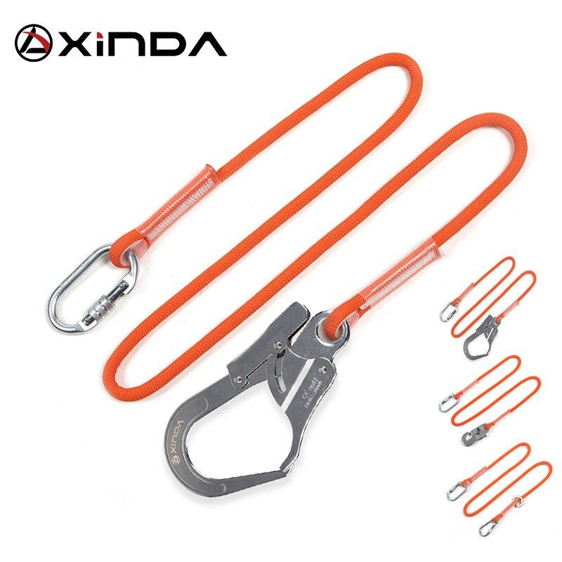 Xinda profissional de alta altitude cinto de segurança de proteção náilon sling cinto com gancho de alta resistência wearable anti queda fora