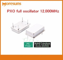 Livraison gratuite 50 pcs/lot oscillateur rectangulaire en cristal de quartz DIP14 oscillateur PXO 12.000 MHz/20.000 MHz/11.2896 MHz/75 MHz/10 MHz