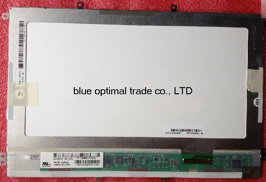Pantalla de 10,1 pulgadas HSD101PWW1 HSD101PWW1A00 LP101WX1 (SL) (N1) (SL) (N2) (SL) (N3)-SLN1 SLN2 SLN3 EeePad TF101 TF300