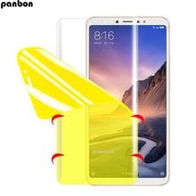 3D Soft Volledige Cover Hydrogel Screen Protector Voor Xiao mi mi max 2 3 pro Beschermfolie Mi max max2 max3 pro niet Glas