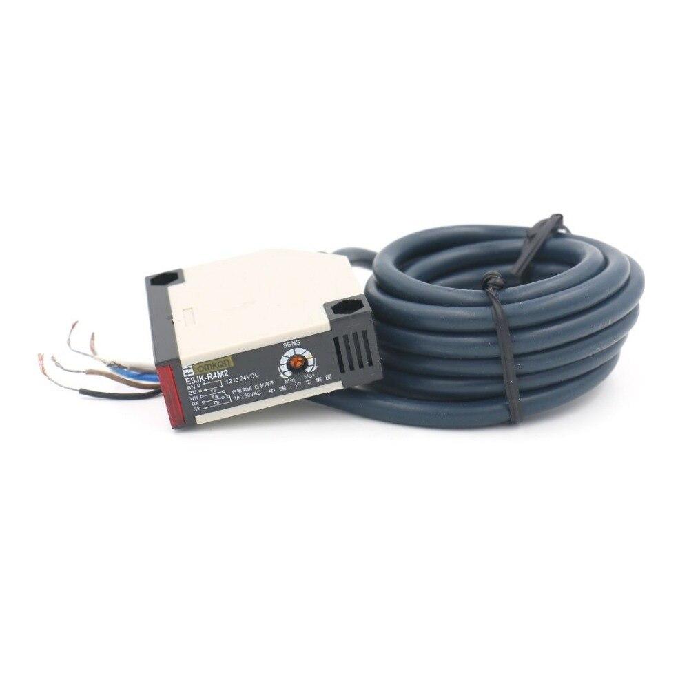 E3JK-R4M2 DC 12-24V Retroreflective Photoelectric Switch Reflector Panel