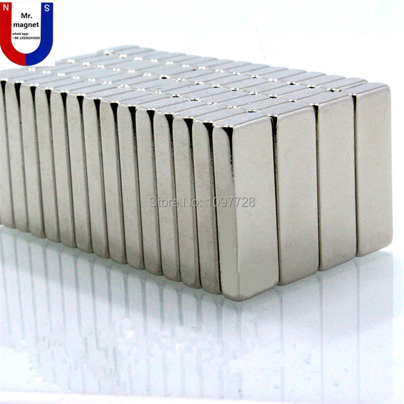 20pcs 50x15x10mm Super strong neo dymium neo 50mm x mm x 10 15mm ímã 50x15x10, ímã de NdFeB 50*15*10mm, 50mm x 15mm x 10mm ímãs