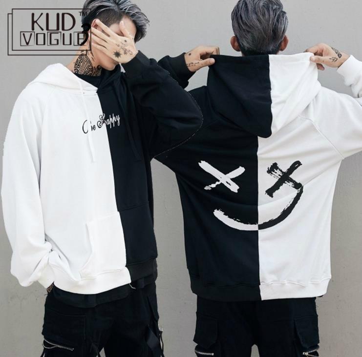 Eua hoodies moletom moletom impressão sorriso hoodie hoodie hip hop streetwear roupas eua tamanho S-XL moletom palácio bape trasher 23