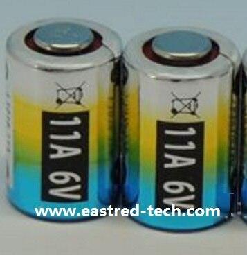 Bateria alcalina de 6 V 11A L1016 MN11 para chave do carro