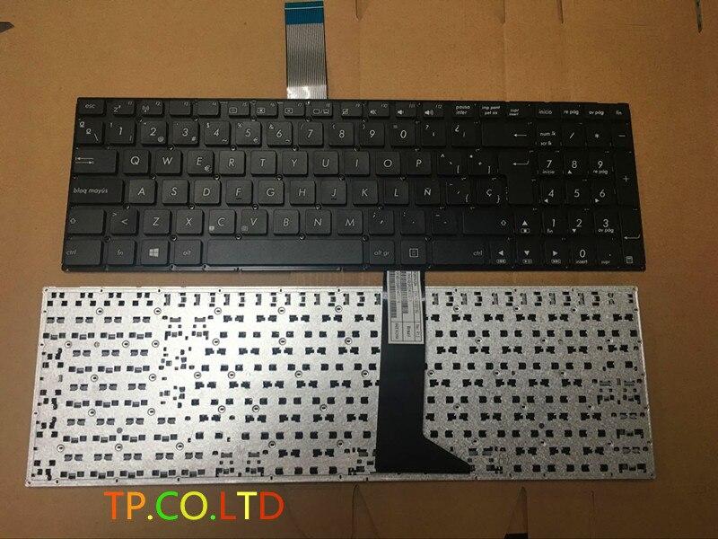Nuevo SP teclado del ordenador portátil para ASUS K550 K550D K550C R510VB R510VC R513C Y581C Y581L Y582 Y582C X552E W581L F550L F550V Spainsh