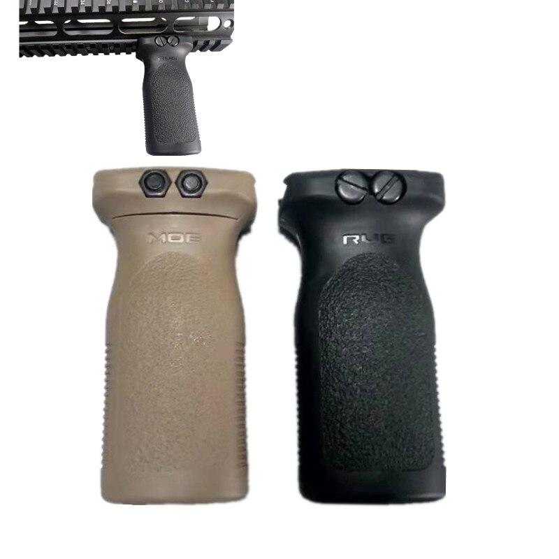 Тактический страйкбол Rvg Стиль передняя Вертикальная ручка винтовка для Пикатинни Черная передняя часть для Пикатинни Передняя рейка
