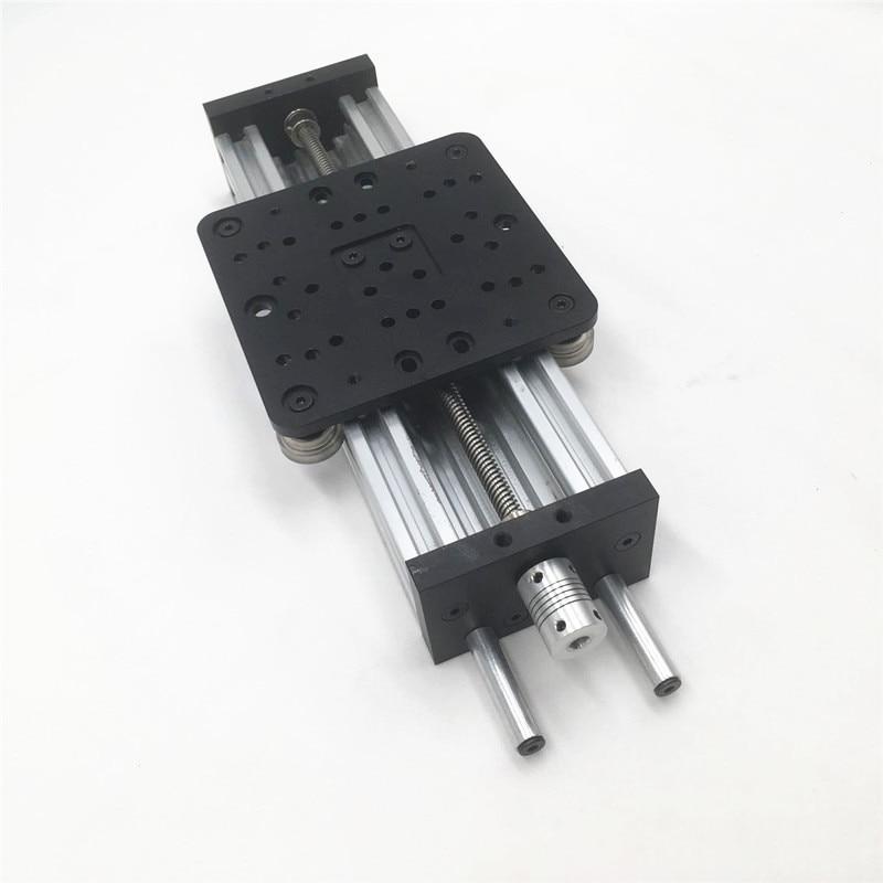 Funssor 3D طابعة C شعاع DIY 250 مللي متر نيما 23 c-شعاع Z محور عدة TR8 * 8 الرصاص المسمار كسلارغي المحرك الخطي حزمة