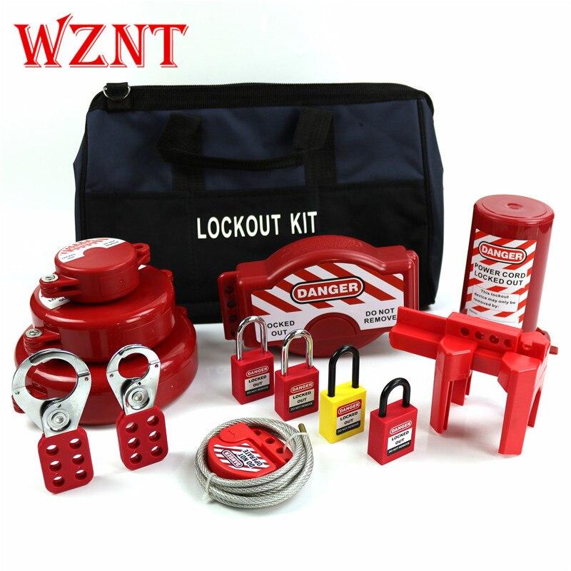 Loto NT-LG41 Segurança Lockout Tagout estação Elétrica Kit estação