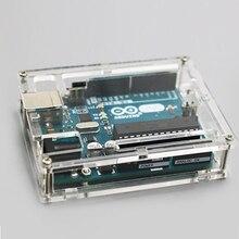 Boîte transparente pour Arduino UNO R3   Un ensemble, coque pour boîte transparente