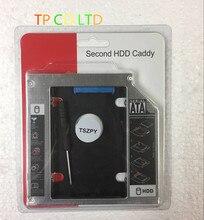 12.7 MM SATA 2nd disque dur HDD SSD Caddy adaptateur pour HP pavillon G6 G7 série G7-1310us g6-1001er remplacer DS-8A5LH DVD ODD