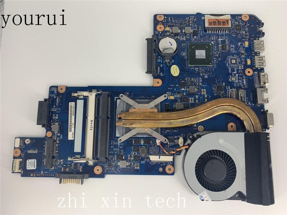 Yourui جودة عالية لتوتوشيبا الأقمار الصناعية C850 L850 اللوحة الأم للكمبيوتر المحمول H000043040 DDR3 اختبار العمل المثالي