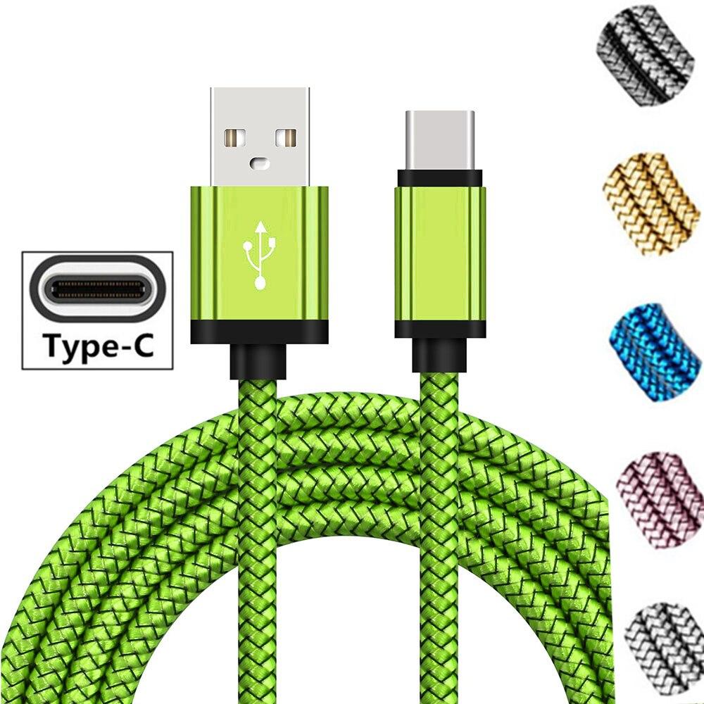 Cargador de batería de teléfono USB tipo C Original para Samsung S10 A9S A9 Star S8 S9 USBC Cable de carga rápida para Honor 10 9 V20 Magic 2