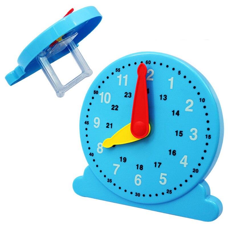 Juguetes para niños en edad preescolar, Juguetes educativos con reloj de cognición, Juguetes de Aprendizaje Temprano