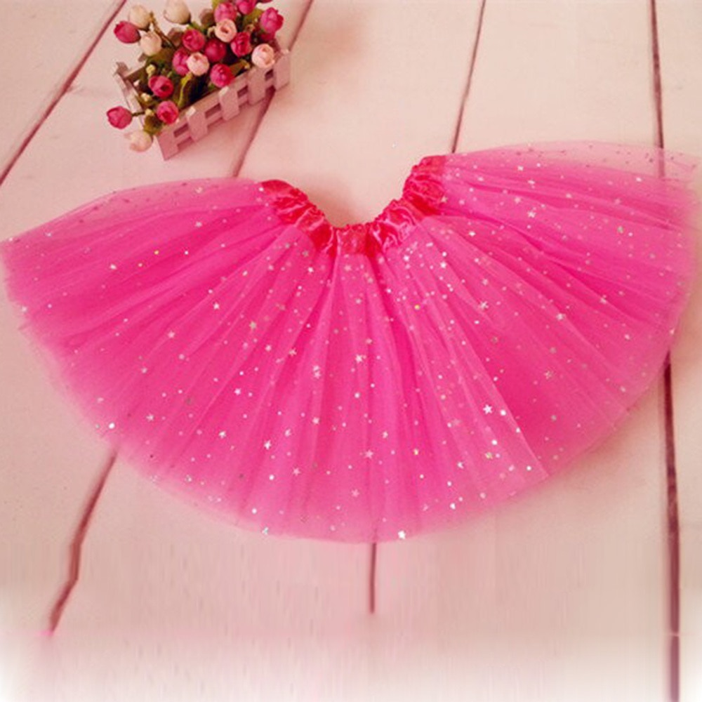 Chicas falda tutú para niños princesa fiesta ropa de ballet Pettiskirt traje nuevo