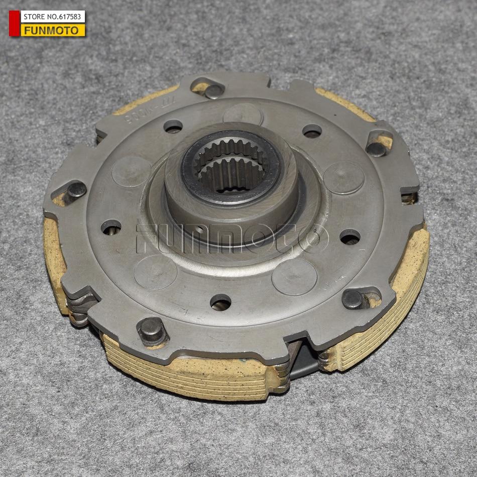 Conjunto de embrague de motor CF MOTO CF500 CF188 y CF625 X6/CFZ6EX, parte no. 0180-054000