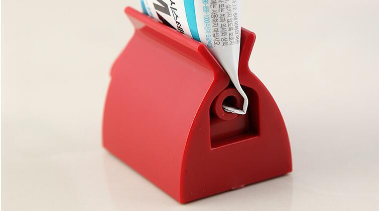 Nuevo tubo rodante para exprimidor de pasta dental, dispensador sencillo de pasta dental, soporte para asiento, soporte de baño, accesorios, herramienta de alta calidad