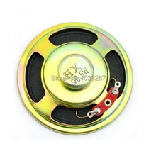 Wysokiej jakości 8Ohm 0.5 W na zewnątrz głośnik magnetyczny-czarny + brąz (57mm)