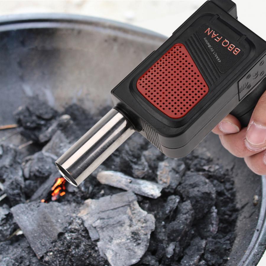 Новый стиль барбекю Вентилятор воздуходувка для наружного кемпинга пикника гриль барбекю инструмент для приготовления пищи Высокое качество барбекю гриль аксессуары