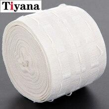 Ruban plissé à traction 10 mètres de tête de rideau   Oeillet supérieur, ruban tête à plis, crochet à plis, ruban accessoires pour rideau (3 pouces) D2